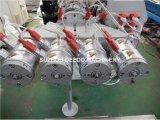 Línea de la protuberancia de la producción del tubo del conducto del PVC cuatro