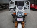 Triciclo de motocicleta elétrico de 3 rodas com passageiro de carga