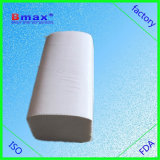 Weiße 1ply V Falten-Papiertuch des Fabrik-Preis-