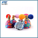 empacotamento cosmético do frasco de perfume da argila do polímero do atomizador 15ml