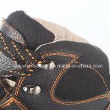 De industriële Schoenen van de Veiligheid van het Leer met de Neus Snb1070 van het Staal