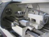 수평한 편평한 침대 상자 방법 높게 엄밀한 CNC 선반 Ck6140b