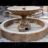 Verontruste Zwarte Fontein Empador voor Decoratie mf-1048 van de Tuin