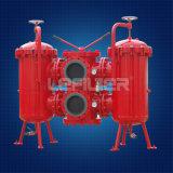 Filtre de lubrifiant de duplex de série de Sllf Sllf 40*120p