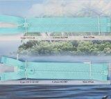 Il Kcc Cielo-Blu fisso del poliestere Zipper (VF3-O)