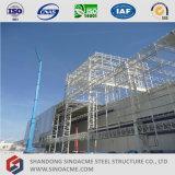 Centre commercial préfabriqué de structure de bâti en métal