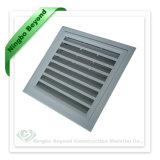 昆虫が付いているHVACの空気調節アルミニウムリターン新鮮な空気の取入口のグリルのルーバーは網を防ぐ