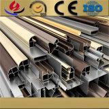 Fabbricazione 6061/6063/6082 tubo/di tubo rotondi di alluminio d'argento anodizzati T5