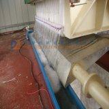 Le filtre-presse complètement automatique de membrane de chambre avec ouvert/a fermé le filtrat