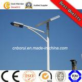 via palo chiaro di energia di energia solare 12V