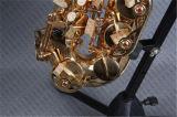 De Saxofoon/de Houten van /Alto van de saxofoon (saa-l)