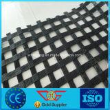 Стеклянное волокно Geogrid 50kn подкрепления асфальта для дороги