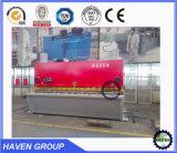 Máquina hidráulica do corte e de estaca da guilhotina, corte de aço da placa e máquina de estaca