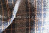 El hilado teñió, escoge la tela echada a un lado de la tela escocesa T/R, 265GSM, 63%Polyester 34%Rayon 3%Spandex