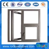 Fenêtre à battant en alliage en aluminium