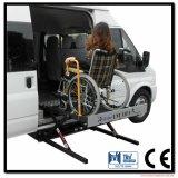 Plate-forme de levage pour fauteuil roulant pour les fourgonnettes de levage avec certificat CE