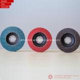 cerámica , zirconia disco de láminas para amoladora angular (VSM y materia prima 3m )