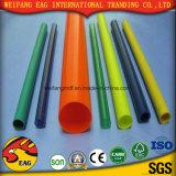 Boyau renforcé par PVC flexible résistant UV en plastique de PVC