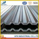 Feuilles de toit en tôle galvanisée revêtue de zinc en rouleaux