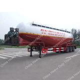 3 반 차축 45m3 대량 시멘트 창고 유조선 트럭 트레일러
