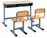 Nuova aula Double Desk di Cheap e di Design School Furniture con Bench Attached