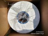 film blanc d'enveloppe d'ensilage soufflé par LLDPE de 250mm*1800m pour de petites presses