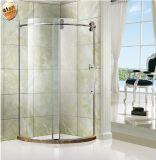 シャワー機構のステンレス鋼のシャワーのキュービクルを滑らせる大きいステンレス製の雄牛のローラー