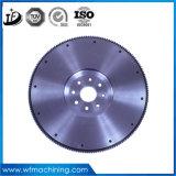 Volante da carcaça do metal do OEM/roda de vôo/roda da rotação com fazer à máquina do CNC