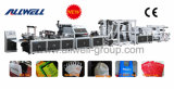 Automatic cheio Non Woven Bag Machine com Online Handle (AW-XA)