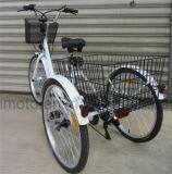 리튬 건전지 최신 판매 24대 인치 타이어 전기 세발자전거