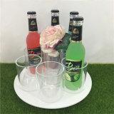 Cadeaux acryliques de présentoir de modèle carré pour des buveurs de vin
