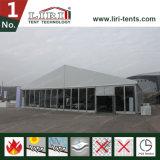 二重翼ガラスのドアが付いている贅沢な卸し売り正方形の結婚式のテント