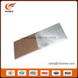 Placa bimetálica de cobre de alumínio da transição