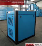 A poupança de energia eólica do tipo de refrigeração do compressor de parafuso de dois rotores