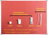 Monofilamento dei pp che migliora la resistenza al gelo di calcestruzzo