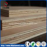 18mm Waterproof Phenolic WBP Glue Pine / Birch / Poplar Core Marine Plywood