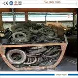 20 Tpd High Efficiency Tube Type Instalação especial de pirólise de pneus com porta aberta completa