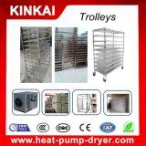 Asciugatrice dell'alimento industriale dell'acciaio inossidabile con circolazione di aria calda