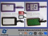 Resistente ao clima auto-adesivos personalizados em cores Tags de bagagem em PVC maleável