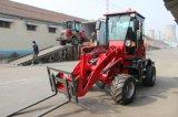 Cer genehmigte das 1 Tonnen-Rad-Ladevorrichtung mit Vorderseite-Ladevorrichtung