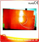 calefator da impressora da borracha de silicone 3D do retângulo de 240V 800W 300*600*1.5mm