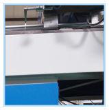 Il doppio mitra capo ha veduto il taglio di alluminio per la fabbricazione del portello della finestra