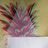 Tissu de mur de Tracery de mention d'impression de Tranfer de la chaleur