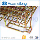 용접된 산업 접히는 회전 철망사 깔판 감금소