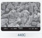 원자로 만들어지는 Gas와 (MIM) 물에 의하여 금속 주입 주조 분말