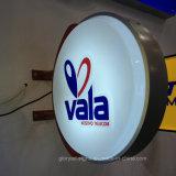 LED al aire libre Caja de luz vacío formado iluminación cartel de publicidad