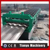 Крен Decking крыши металла строительных материалов стальной структуры формируя машину