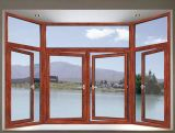 Casement europeu personalizado profissional Windows do estilo da grande escala da alta qualidade (ACW-046)