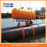 海洋海難救助の上昇袋/膨脹可能なドックのプラスチック浮遊ポンツーン
