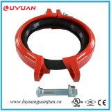 Couplage rigide FM/UL de fer de garniture malléable de cornière Grooved reconnu